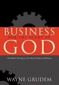 Christian Book on Business for God's Glory