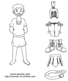 Roman Centurion Coloring Pages (Free Printable)