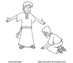 COLORING PAGE DOUBTING THOMAS « Free Coloring Pages