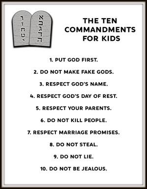 10 commandments # 39
