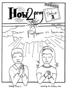 Lord's Prayer Coloring Pages