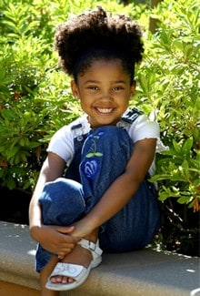 Young African American Child