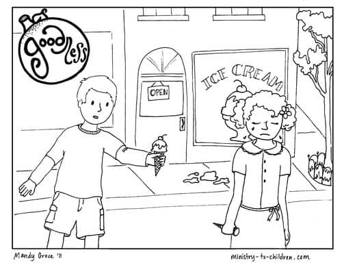 Printable Coloring Page about