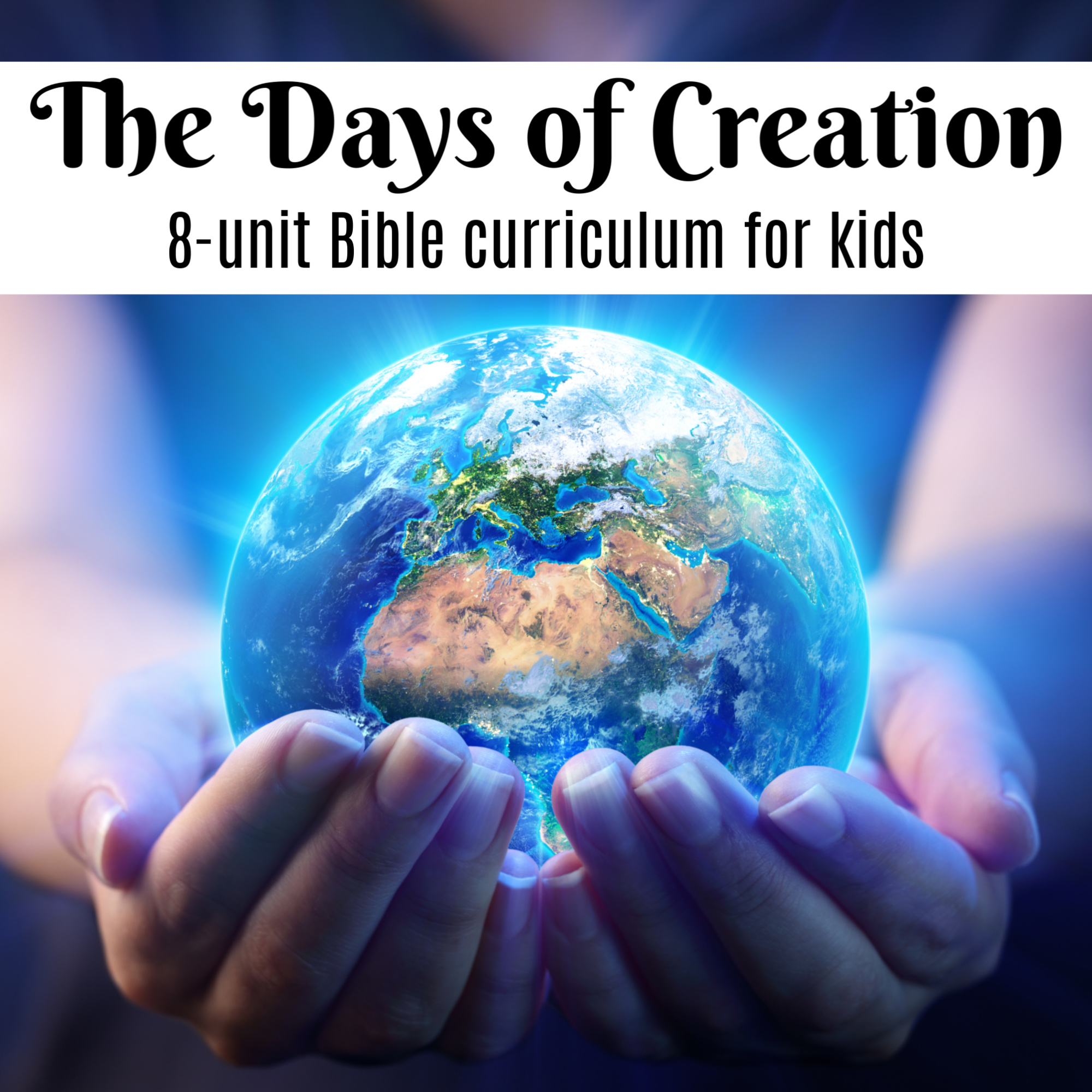 Kids Bible Study Tools Resources Preschool Homeschool God/'s Creation Learning Puzzle Seven Day of Creation Lesson Plan Game