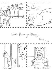Joseph Coloring Pages