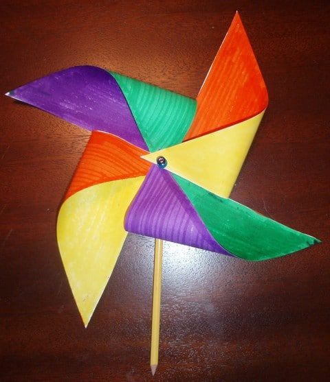 pinwheel craft idea