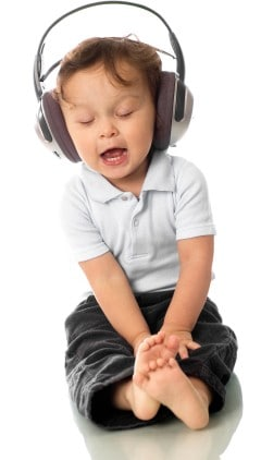 Image result for children listening to music