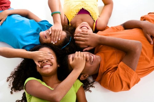 Energetic preteen ministry game