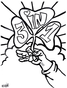 St. Patrick's Day Coloring Page for Children