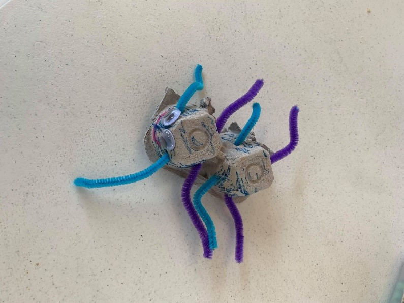 happy spiders craft