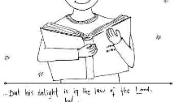Psalm 19 Coloring Page Heavens declare the Glory of God