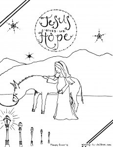 Birth of Jesus Foretold to Mary: Christmas Bible Lesson