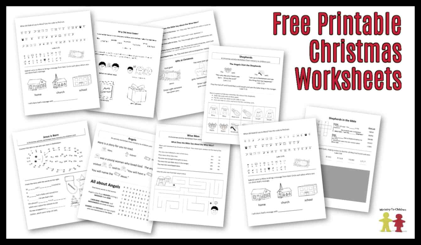 medium resolution of Free Christmas Worksheets for Kids (Free Printable Activity Sheets)