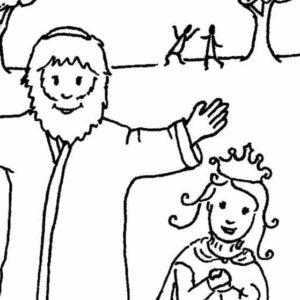 Esther Bible Lesson for Preschoolers