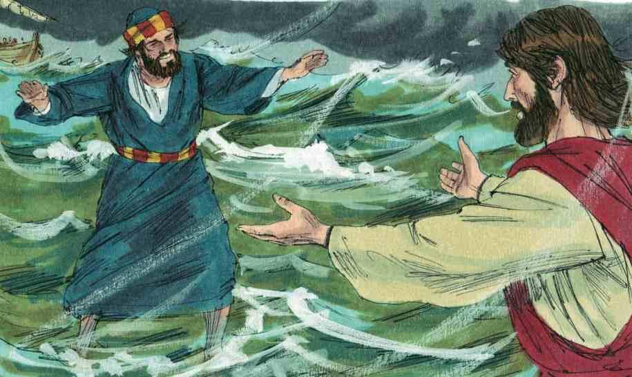 Teaching Skit - Jesus and Peter Walking on Water