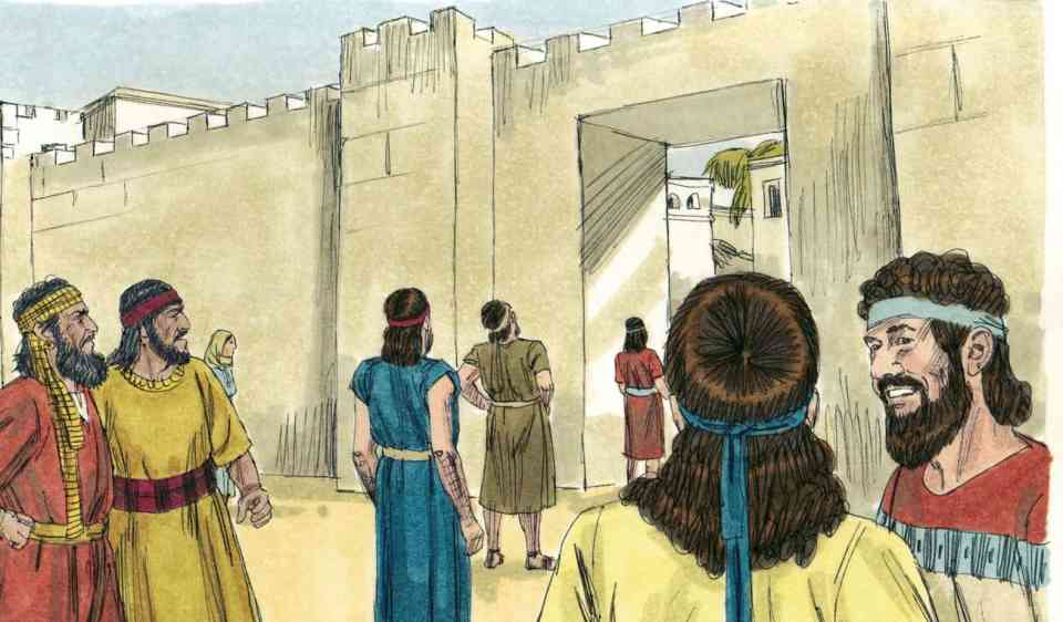 Bible Lesson: Returning to the Word of God (Nehemiah 7-8) | Free ...