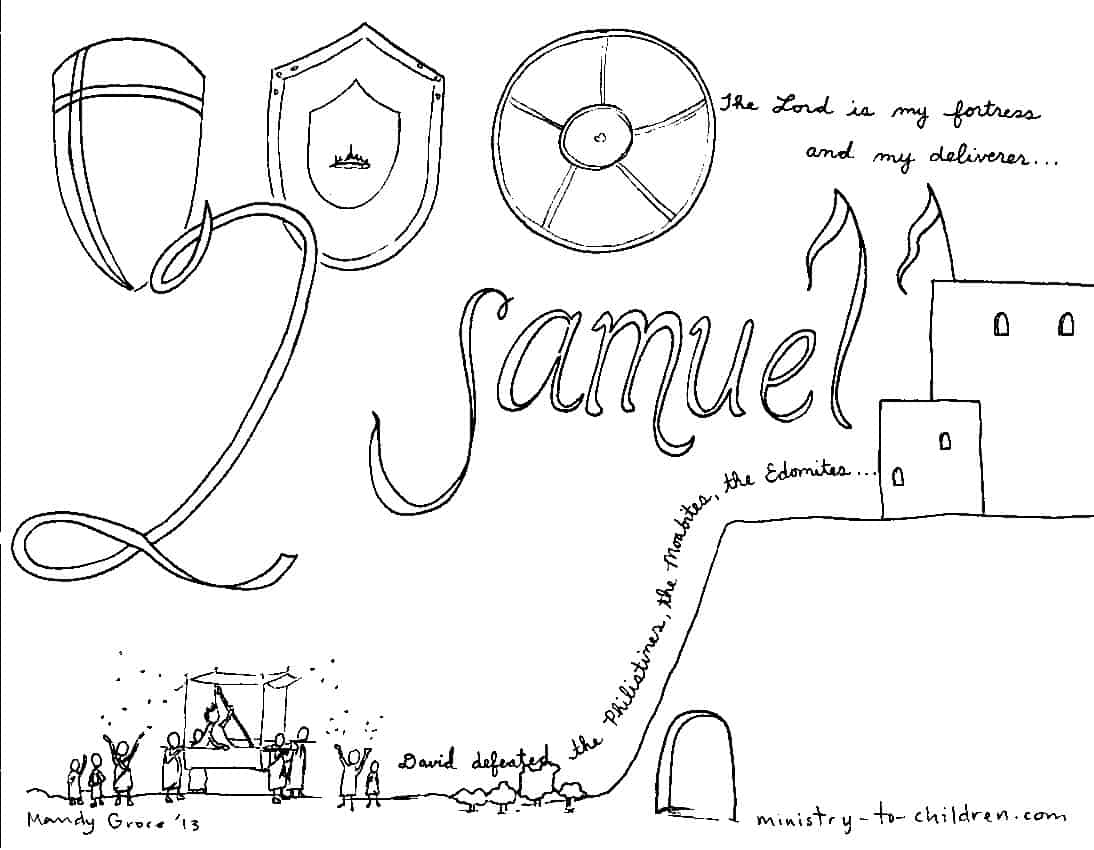 Free coloring pages of prophet samuel