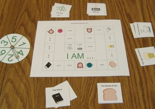 I Am Names For Jesus Printable Game Ministry To