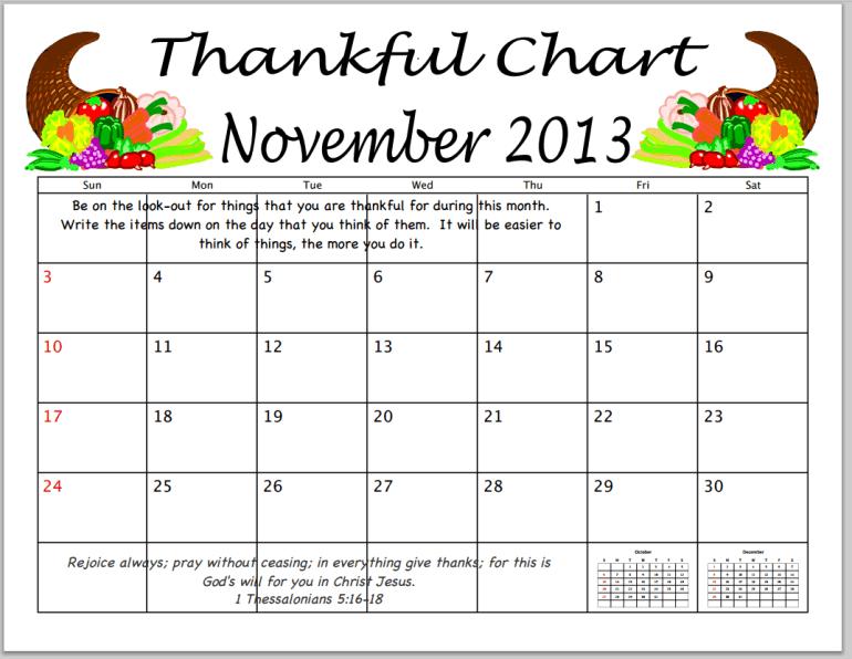 Thanksgiving-chart-prayer-chain