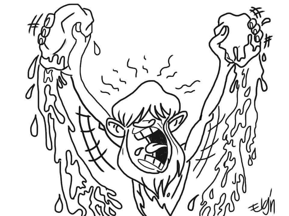 john water baptism coloring page