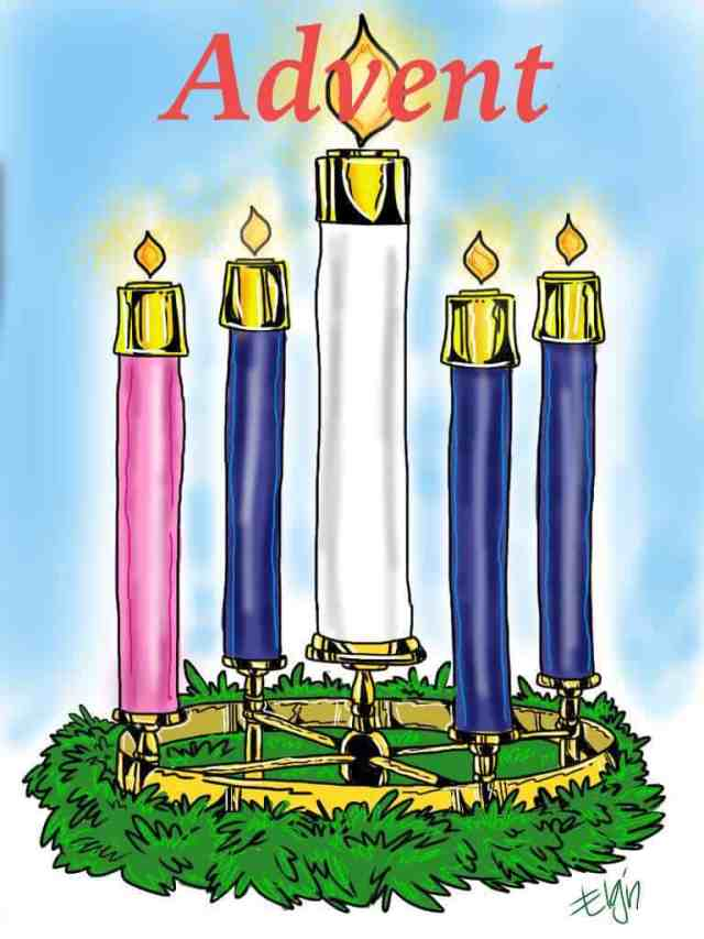 Advent Candles Coloring Pages - Ministry-To-Children