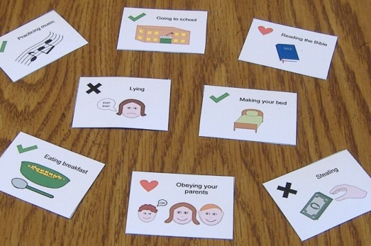 """I Love Jesus"" Free Printable Game for Children"