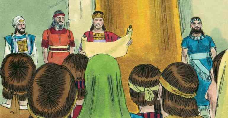 Bible Lesson - Josiah helps Judah return to God's Word