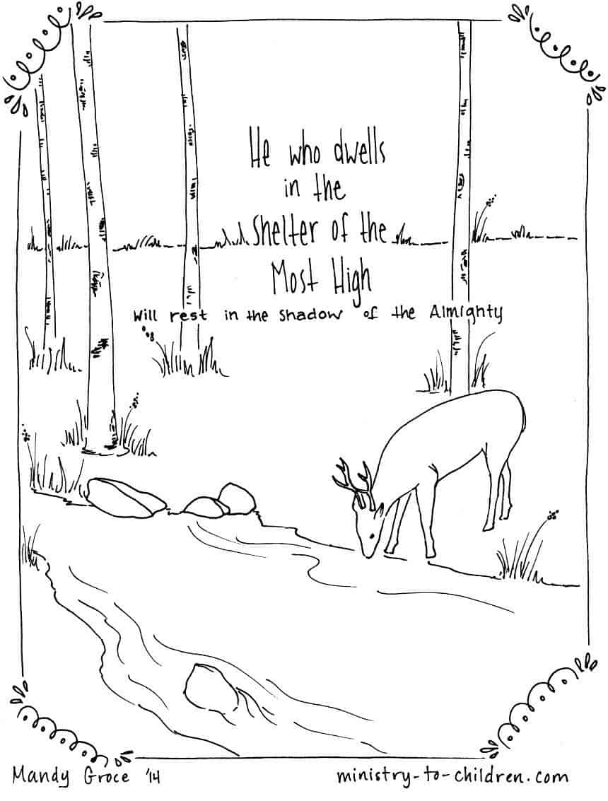 Psalm 119 11 Coloring Page Coloring Pages