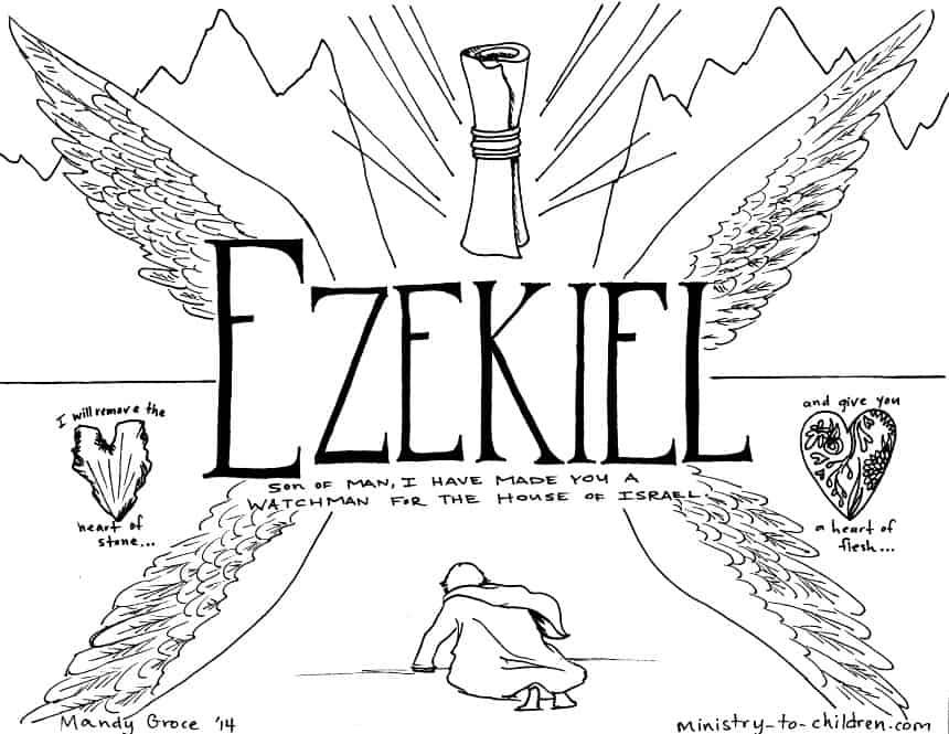 Ezekiel Coloring Pages
