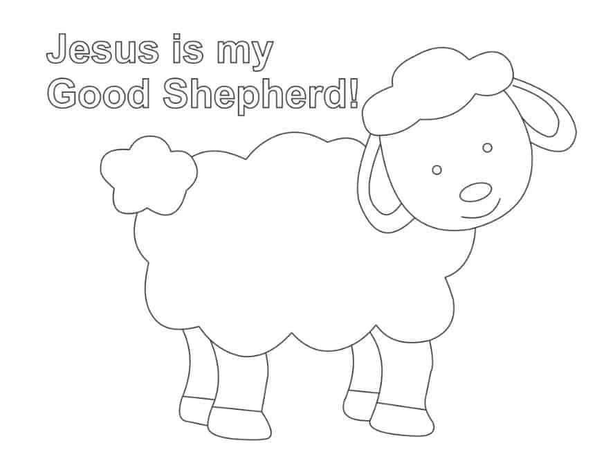 I AM The Good Shepherd (John 10:11-16) Lesson Ministry-To-Children