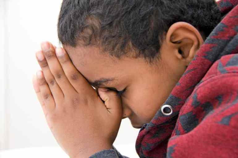 A Thankful Prayer to Teach Children