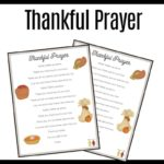 children's prayer of thanksgiving