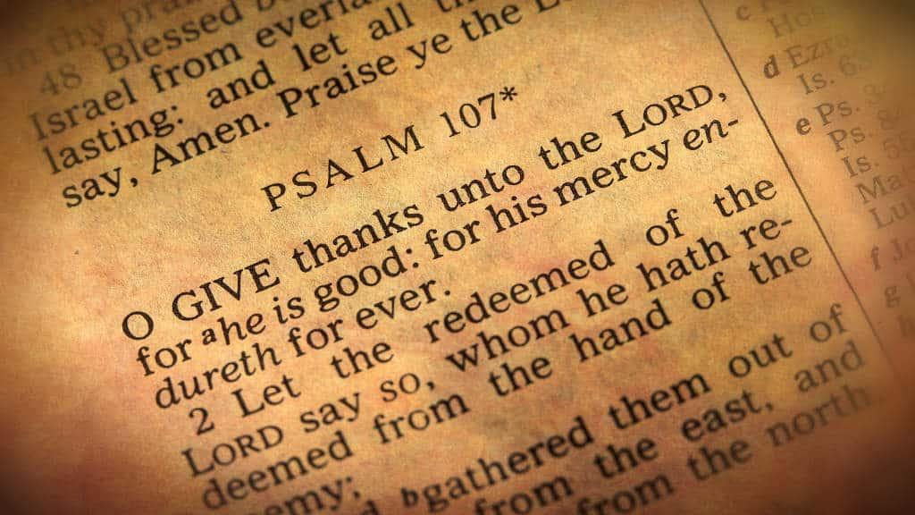 42 Bible Verses about Thankfulness