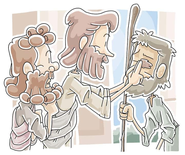 Jesus heals a blind man - Lesson from John 9