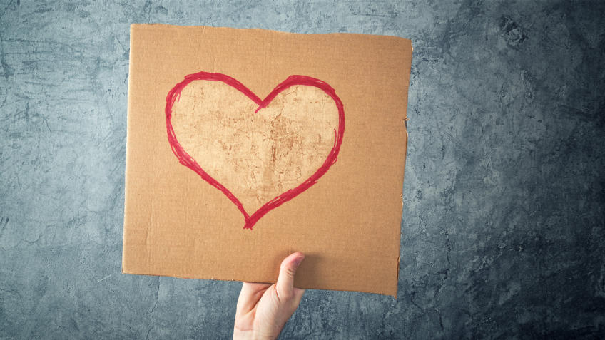 Empty Hearts Object Lesson (Jeremiah 31:33)