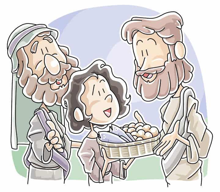 Jesus Feeds The 5 000 Teaching Skit Ministry To Children Com