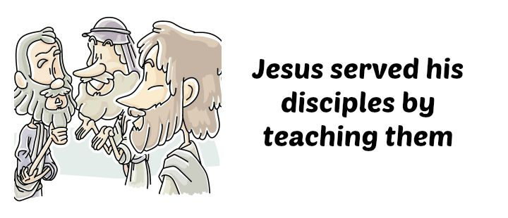 Lesson: Jesus Served His Disciples Matthew 4: 12-22