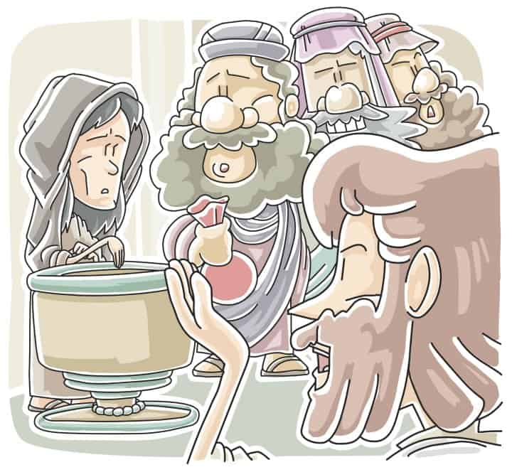 """""""The Widows Two Coins"""" Sunday School Lesson based on Mark 12:38-44"""