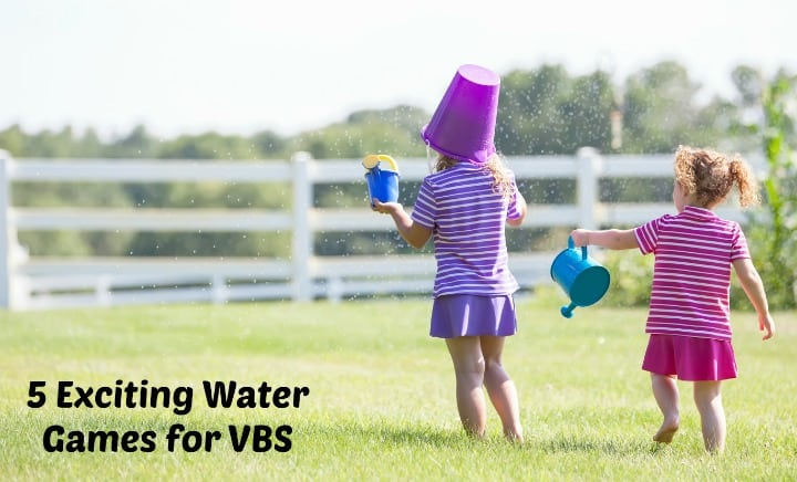5 Exciting Water Games for Vacation Bible School