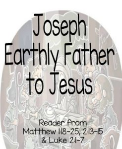 """Joseph - Jesus' Earthly Father"" Bible Story Teaching Skit"