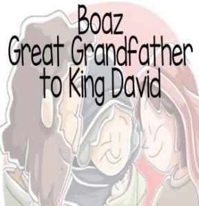 """Boaz Great Grandfather of King David"" Bible Story Teaching Skit"