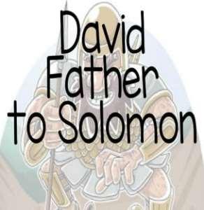 """David Father to Solomon"" Bible Story Teaching Skit"