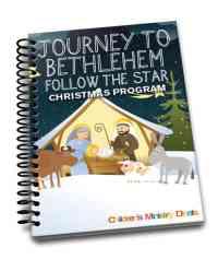 Journey to Bethlehem Christmas Program
