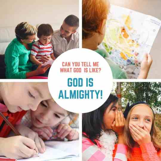 God is Almighty Sunday School Lesson