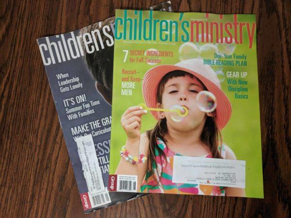 Subscrição de revista gratuita para o ministério infantil