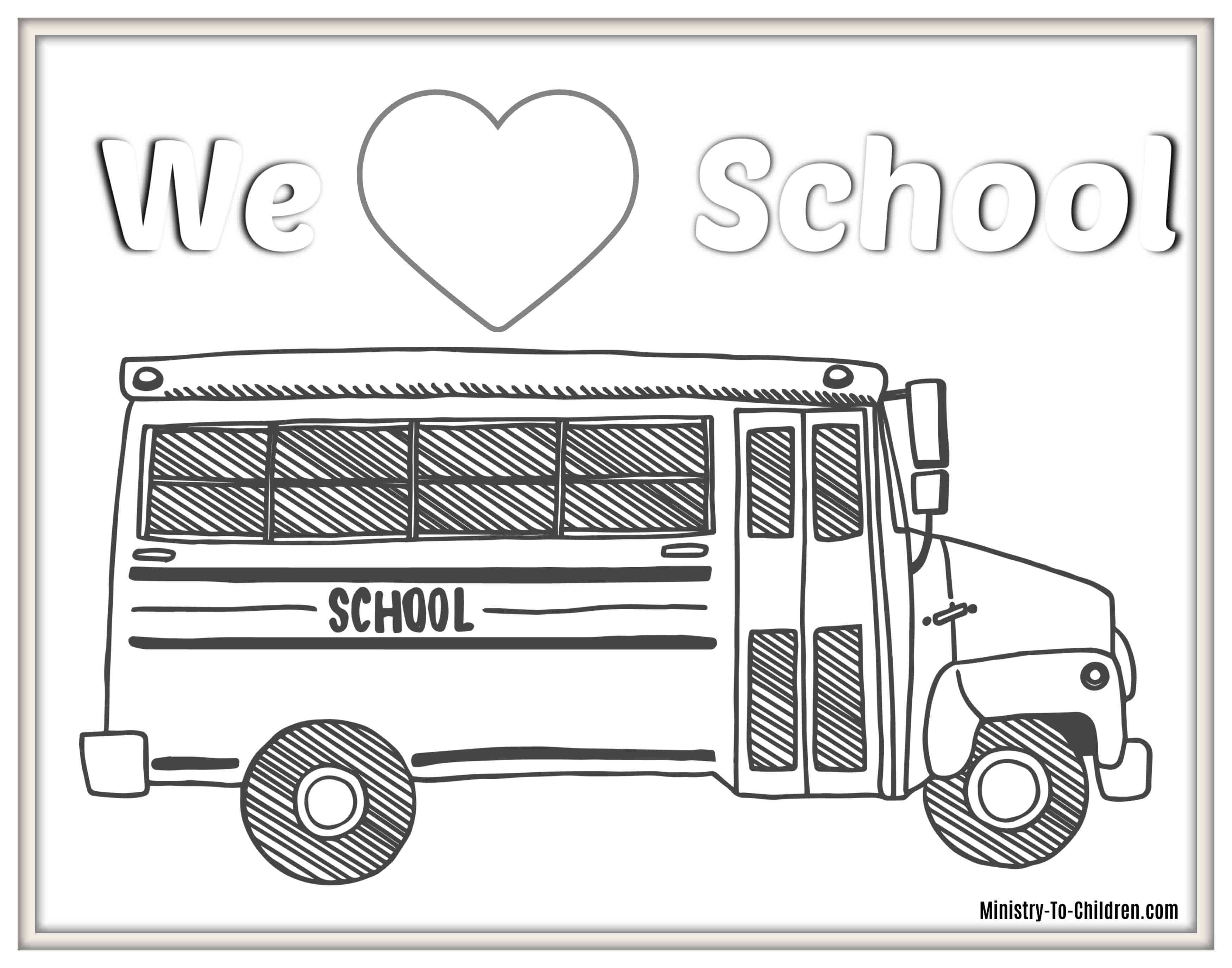 25 Back to School Coloring Pages (Free PDF Printables) for 25