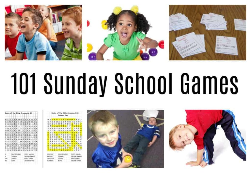 101 sunday school games