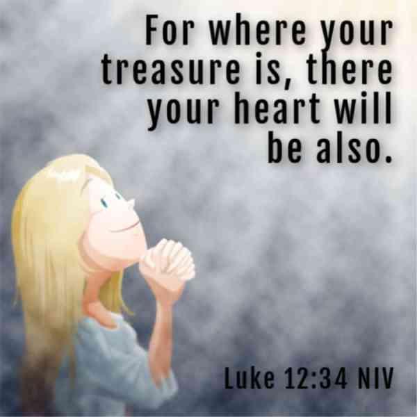 Não Se Preocupe - Tesouro no Céu) Lucas 12: 22-34