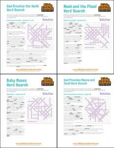 printable Bible word search puzzles free PDF download