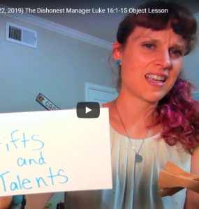 Children's Sermon on the Dishonest Messenger